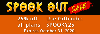 It's the Halloween sale! Enjoy 25% off any 123RF plans with promo code: SPOOKY25