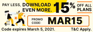 15% Off all plans with MAR15